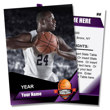 Basketball Card Templates