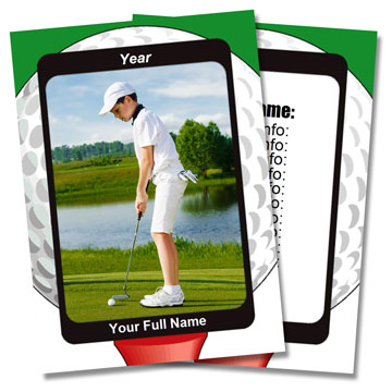 Golf Card Templates